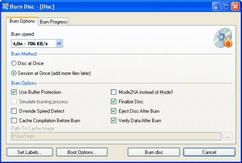 cdburnerxp pro 4.1.2